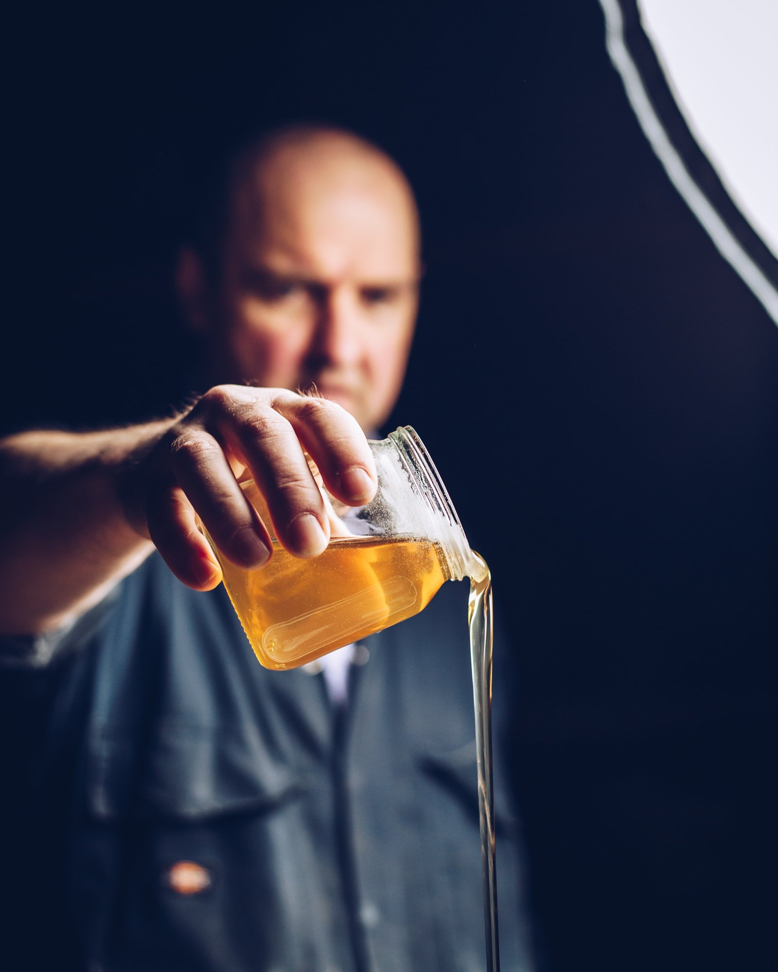 Pouring Honey, National Bee Supplies - OLCO Studios